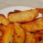 Жареный картофель дольками – пошаговый рецепт